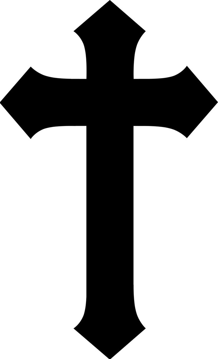 Cross free images clip. Christian clipart simple