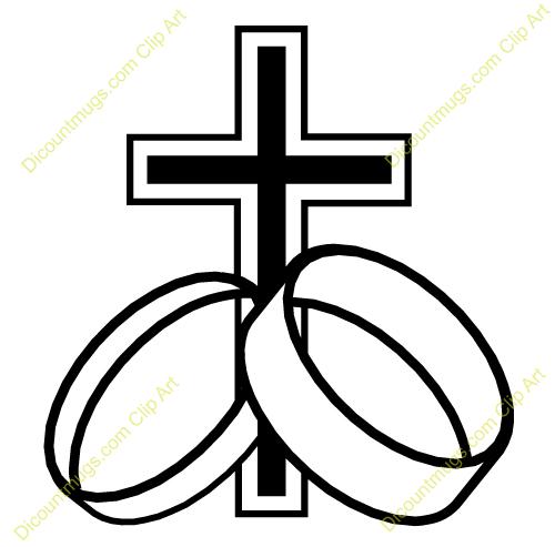 Anniversary clipart religious. Christian wedding symbols clip