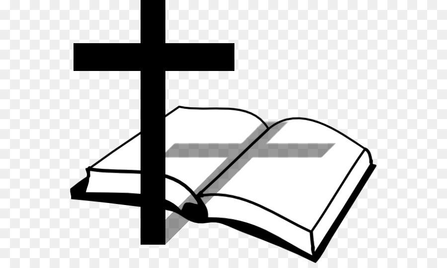 Christian clipart transparent. Bible cross church clip