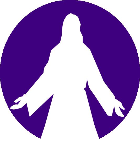 Lds clipart silhouette. Jesus christ clip art