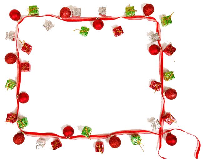 Picture mart. Christmas border png