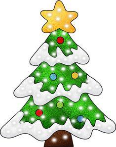 views album tree. Christmas clipart