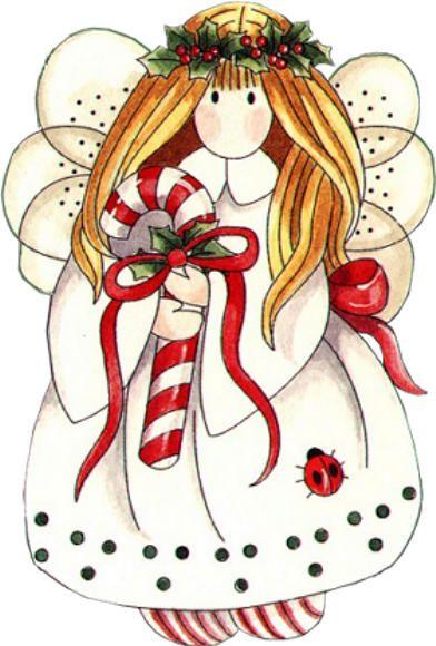 Christmas clipart angel. Para a etiqueta que