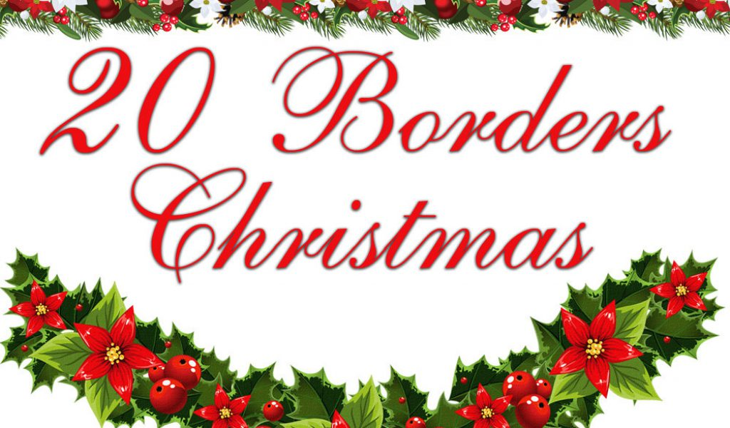 Free Christmas Borders.Christmas Clipart Borders Photo Album Sabadaphnecottage