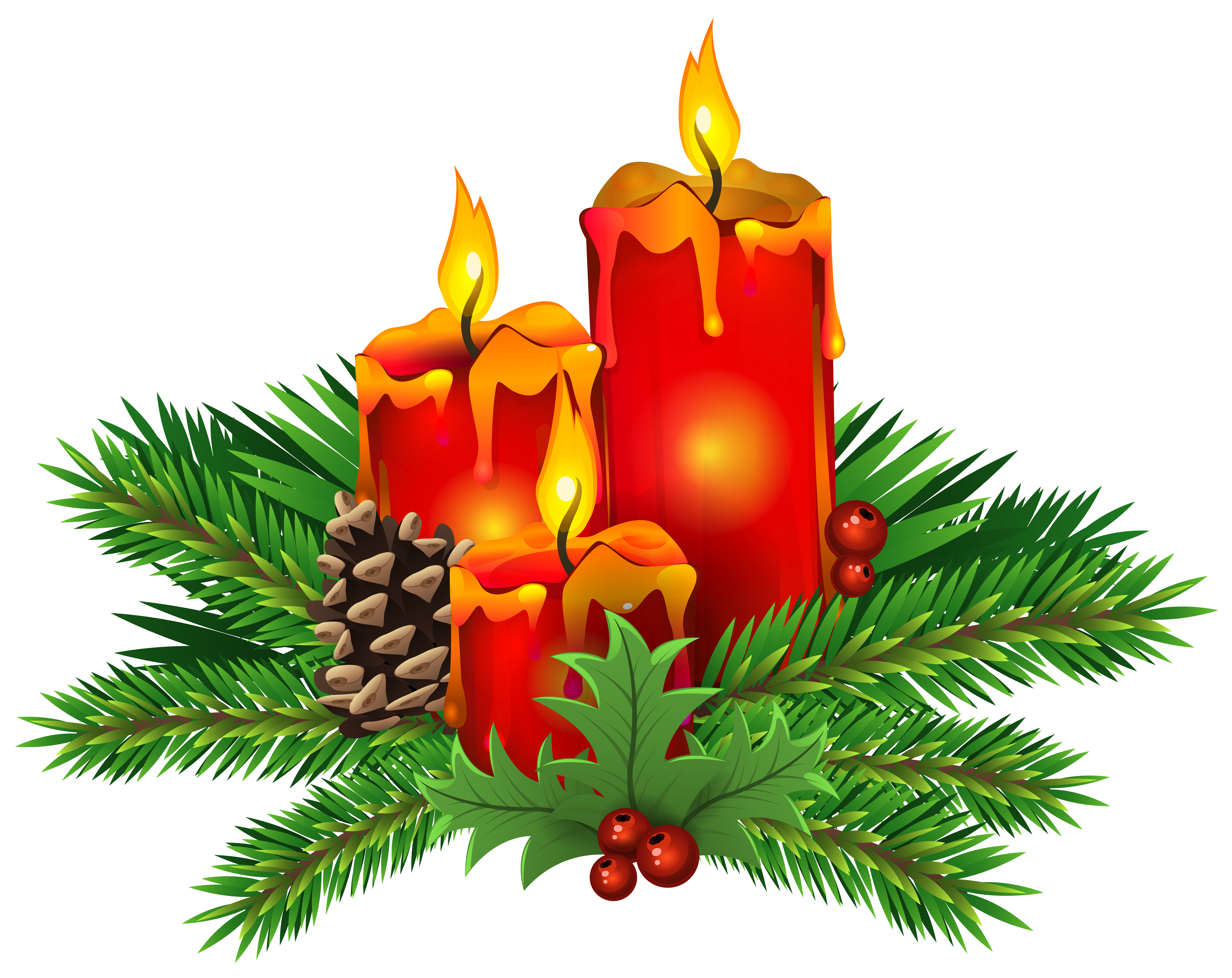 Candles png clip art. Christmas clipart candle