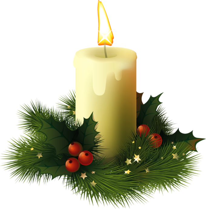 Holly clipart modern. Free christmas candle images