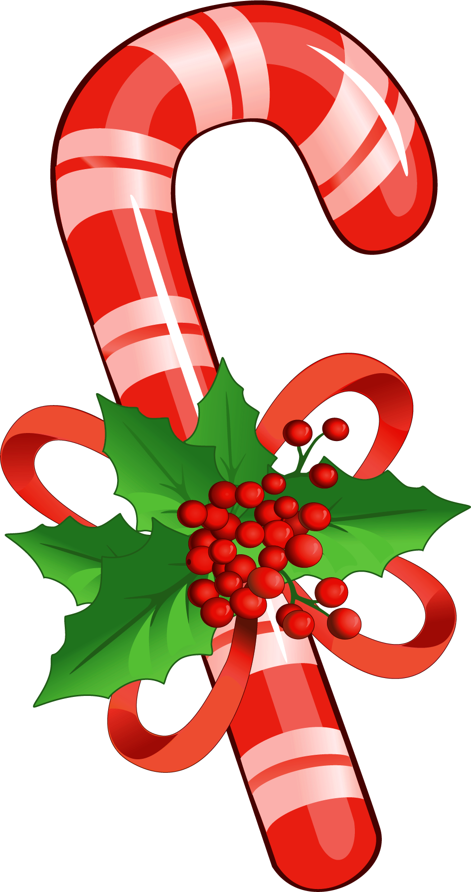 Cookies clipart candy. Cane with mistletoe png