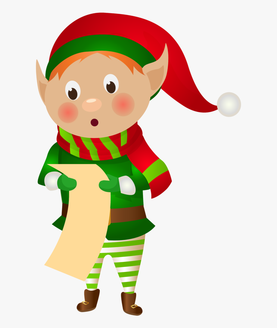 Elves clipart file. Christmas elf clip art
