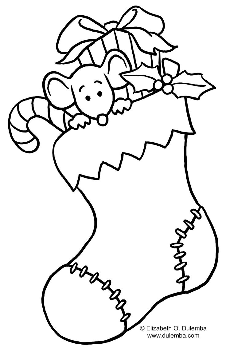 Christmas clipart coloring. For incep imagine ex