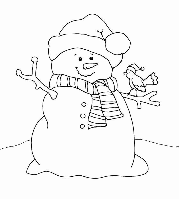Christmas clipart coloring.  best page images