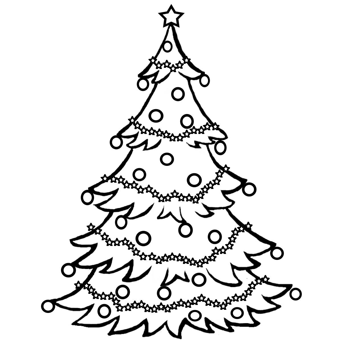Christmas clipart coloring. Pages clip art for