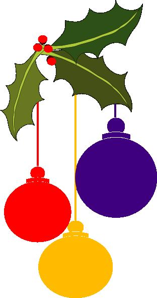Christmas corner border png. Ornaments clip art at
