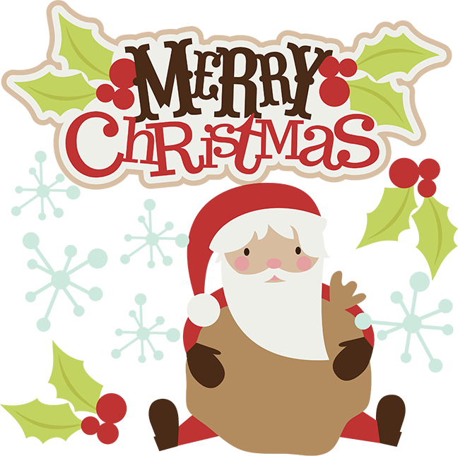 Free clipart merry christmas. Cute