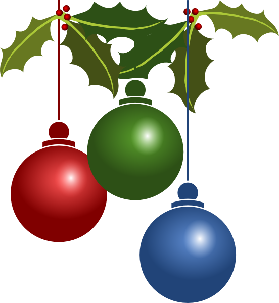 Decoration clip art at. Clipart present merry christmas