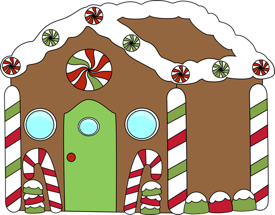 Caroling clipart my cute graphics. Gingerbread house clip art