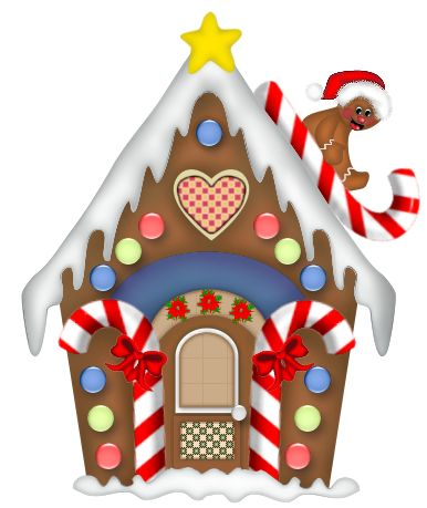 Free christmas cliparts download. Gingerbread clipart elf house