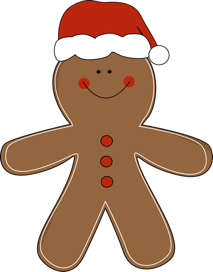 Gingerbread clipart cut out. Man clip art for
