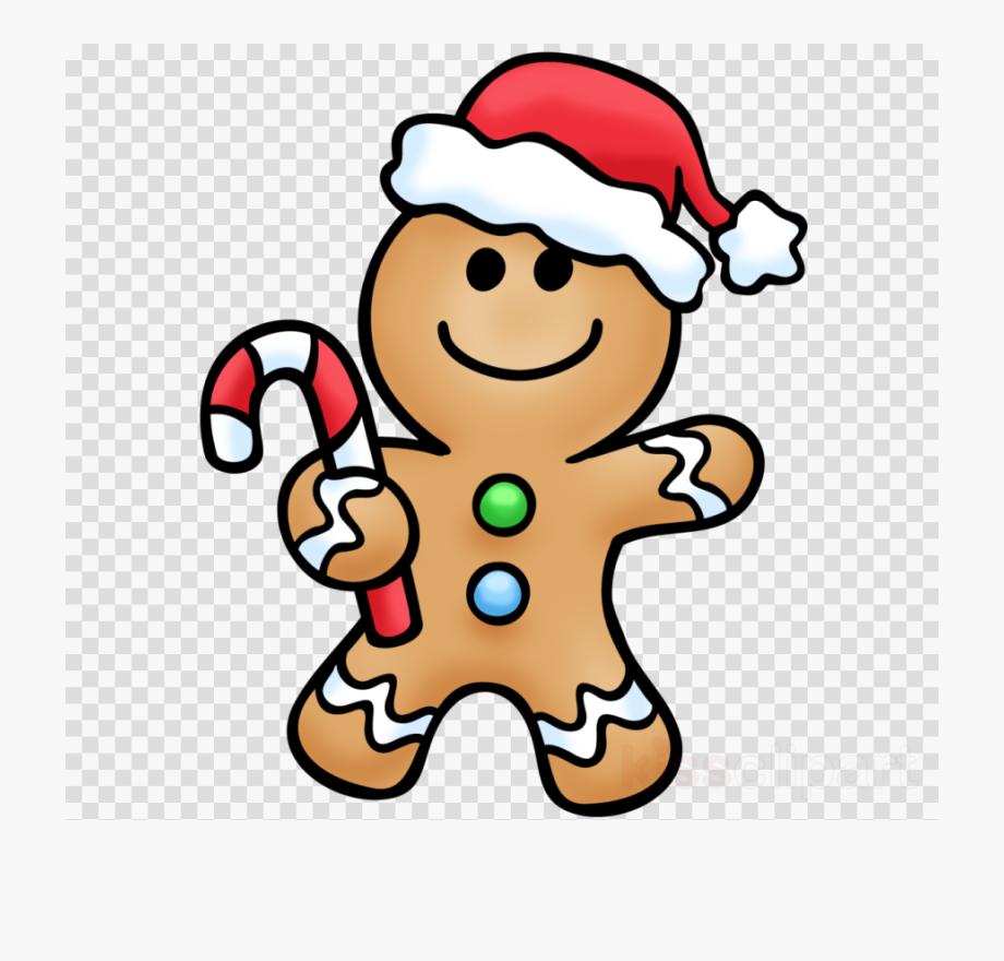 Christmas food printable man. Gingerbread clipart easy