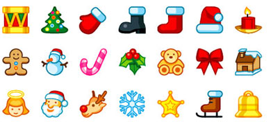Free christmas icons pictures. Holly clipart small
