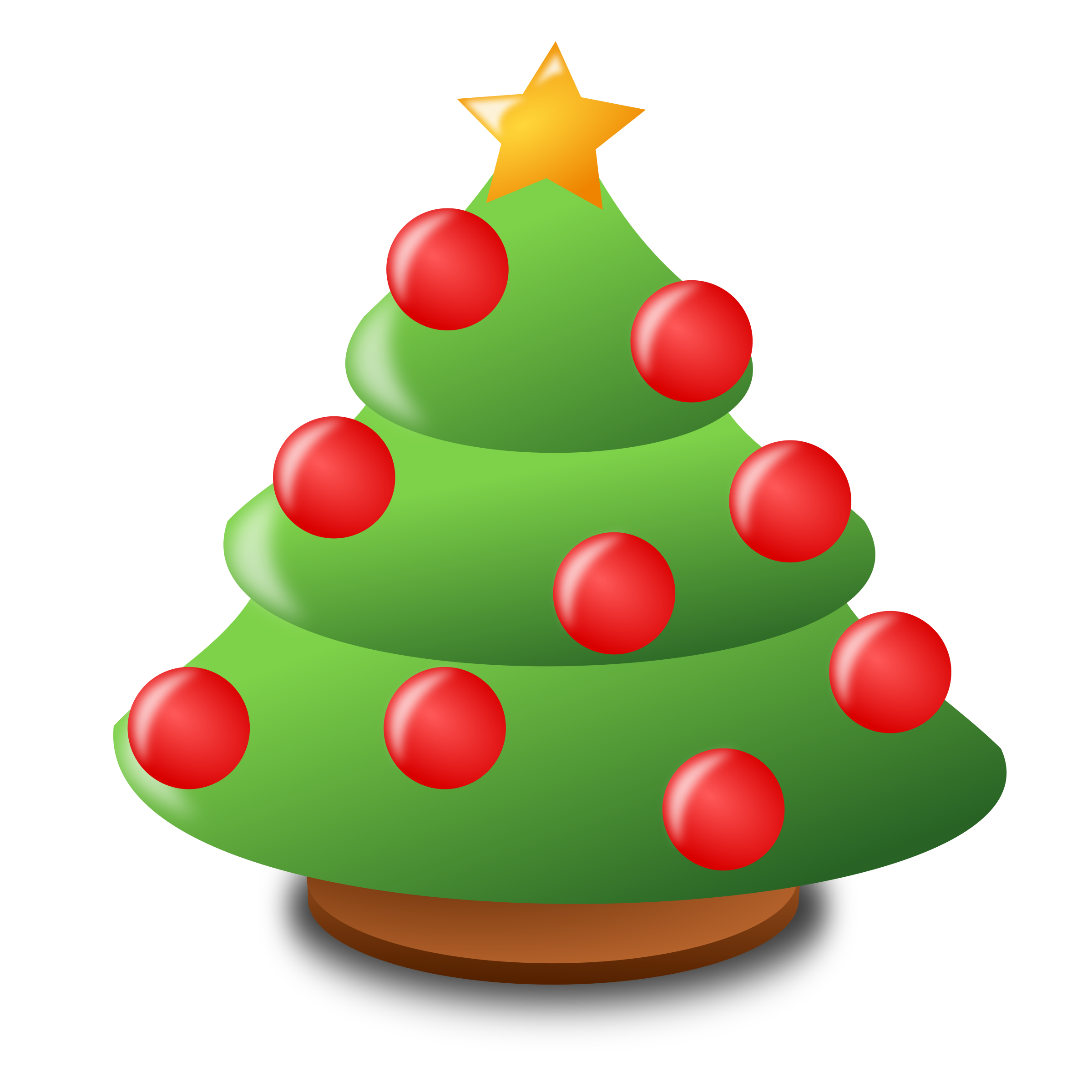 Icon big image png. Number 1 clipart christmas