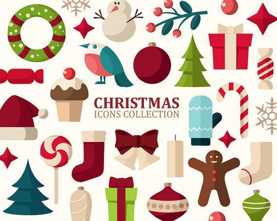 best clip art. Christmas clipart icon