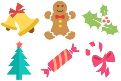 Icons . Christmas clipart icon