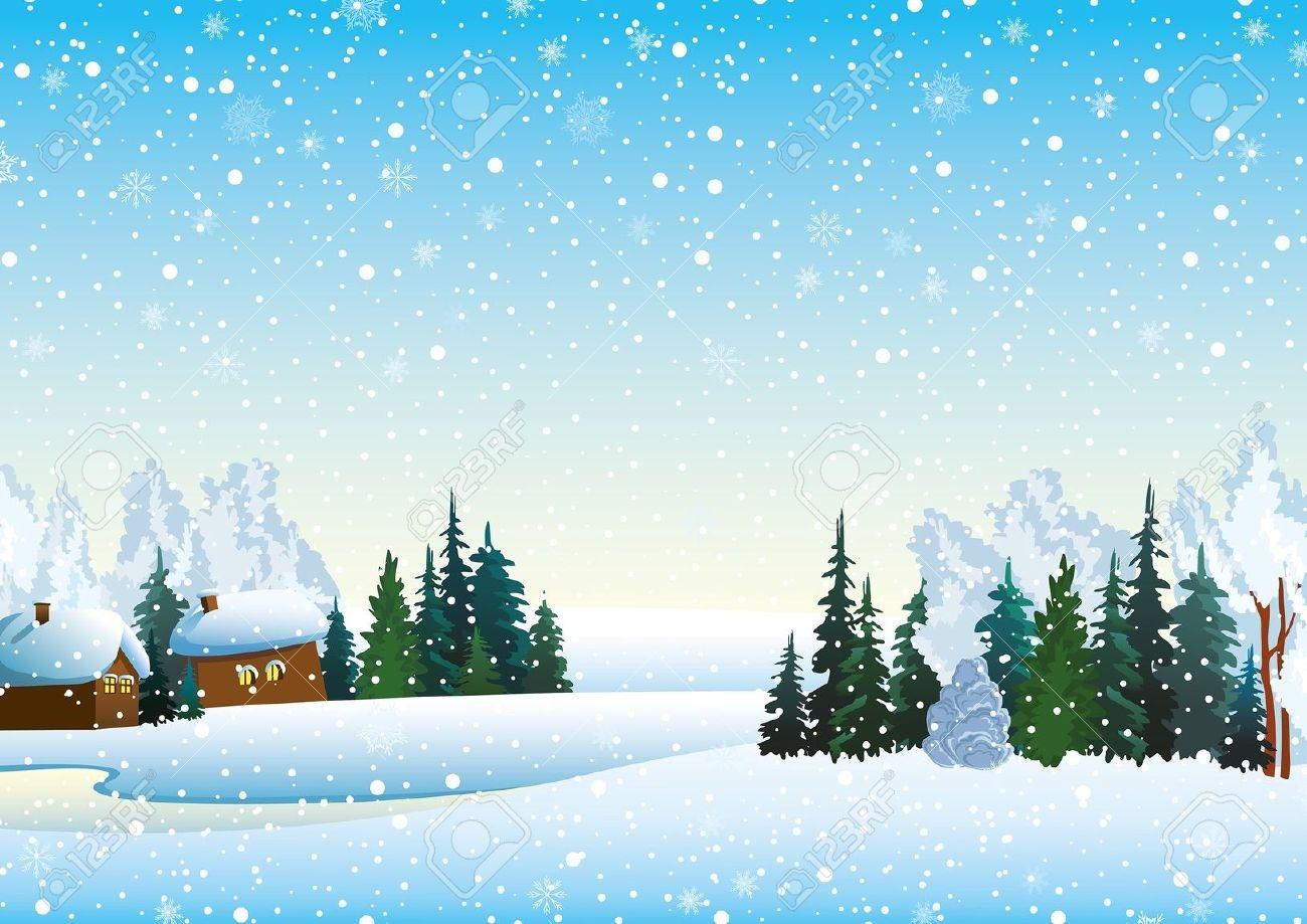 Lake clipart snowy scenery. Free winter landscape cliparts