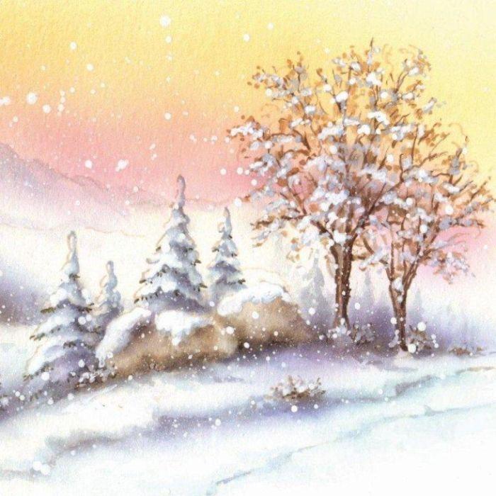 best winterzeit images. Christmas clipart landscape