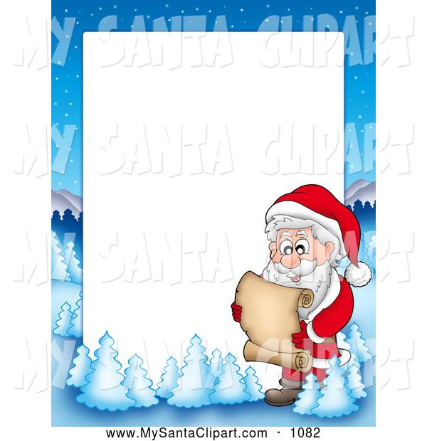 Clip art of a. Christmas clipart landscape