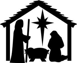 Nativity clipart manger. Christmas scene pictures best