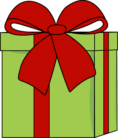 Bows clipart xmas. Christmas present panda free