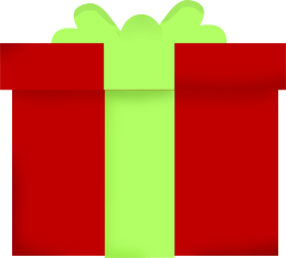 Download Christmas Gift Clip Art - Transparent Clipart Christmas Present -  Full Size PNG Image - PNGkit