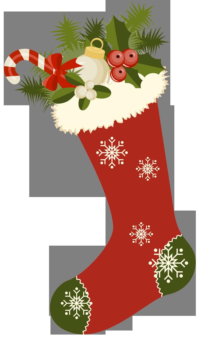 Vintage stockings . Desert clipart christmas