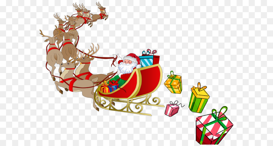 Christmas Clipart Sleigh Christmas Sleigh Transparent Free For Download On Webstockreview 2020