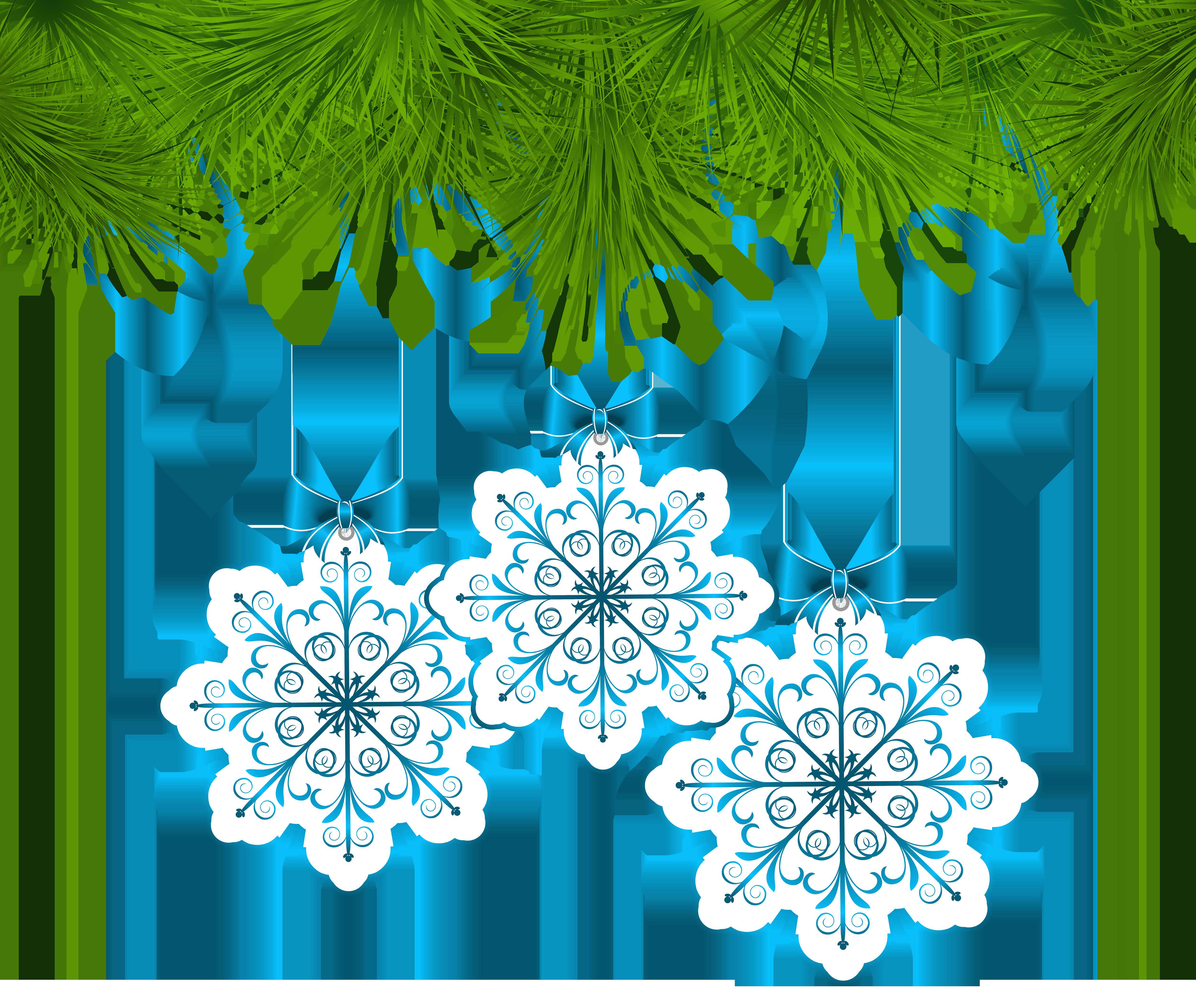 Christmas pine decor with. Ornament clipart line art