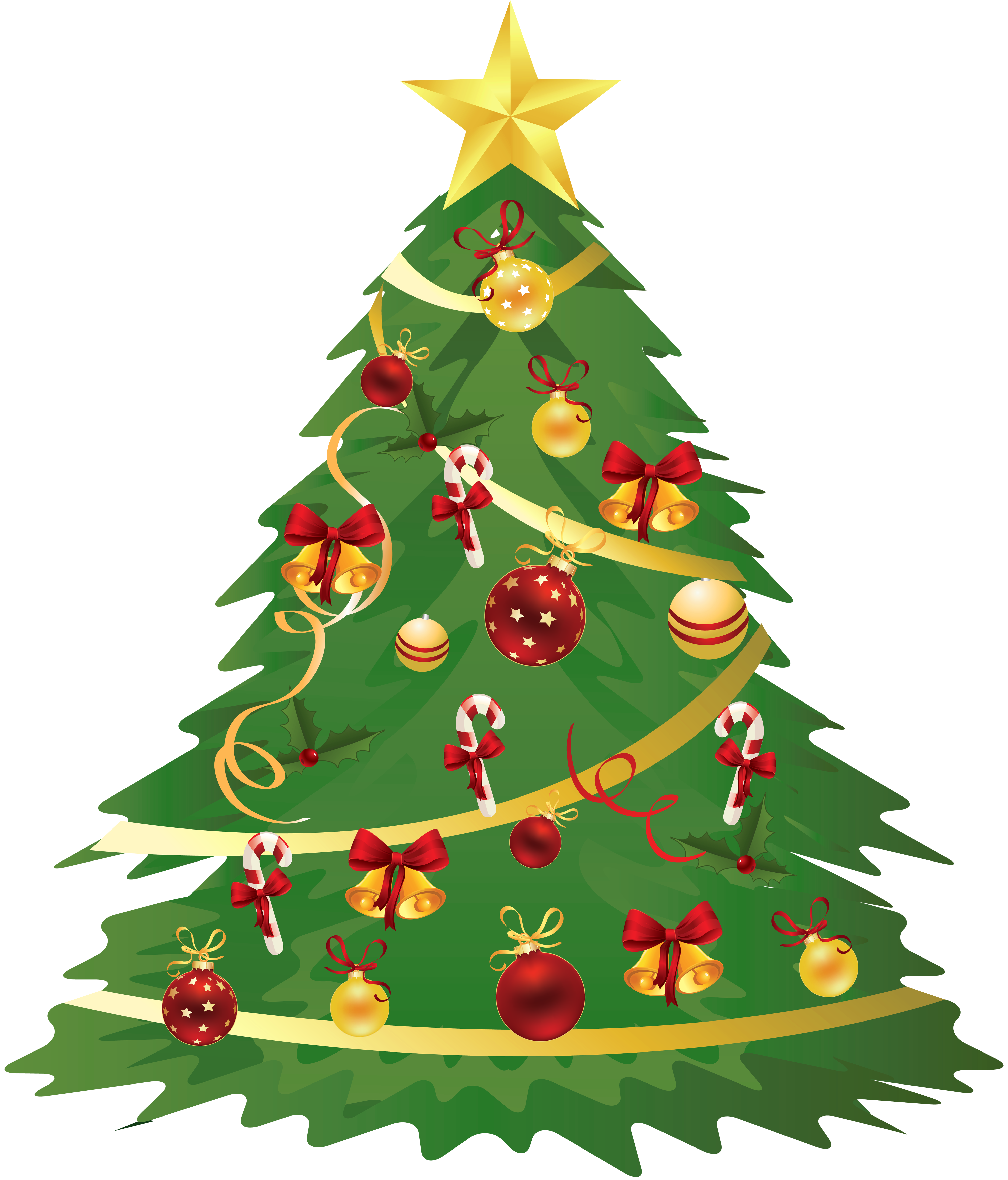 Large transparent christmas with. Tree clipart face