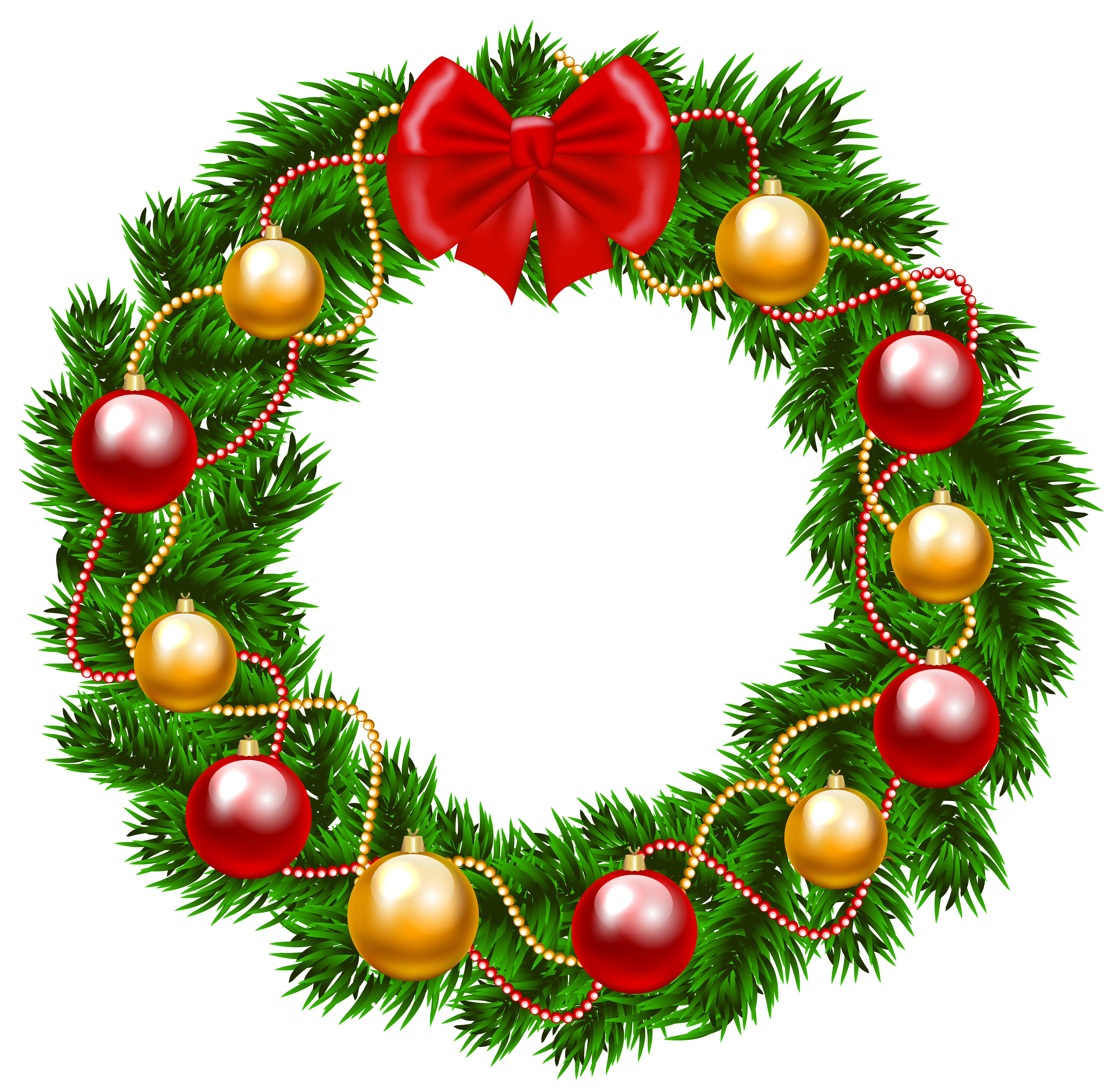Christmas png image gallery. Clipart fruit wreath