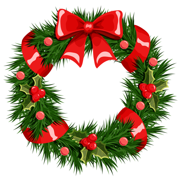 Clipart christmas food. Free wreath cliparts download