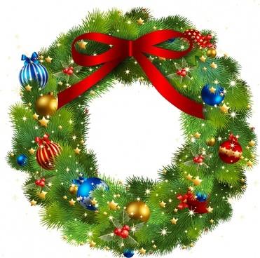 Clip art free vector. Christmas clipart wreath