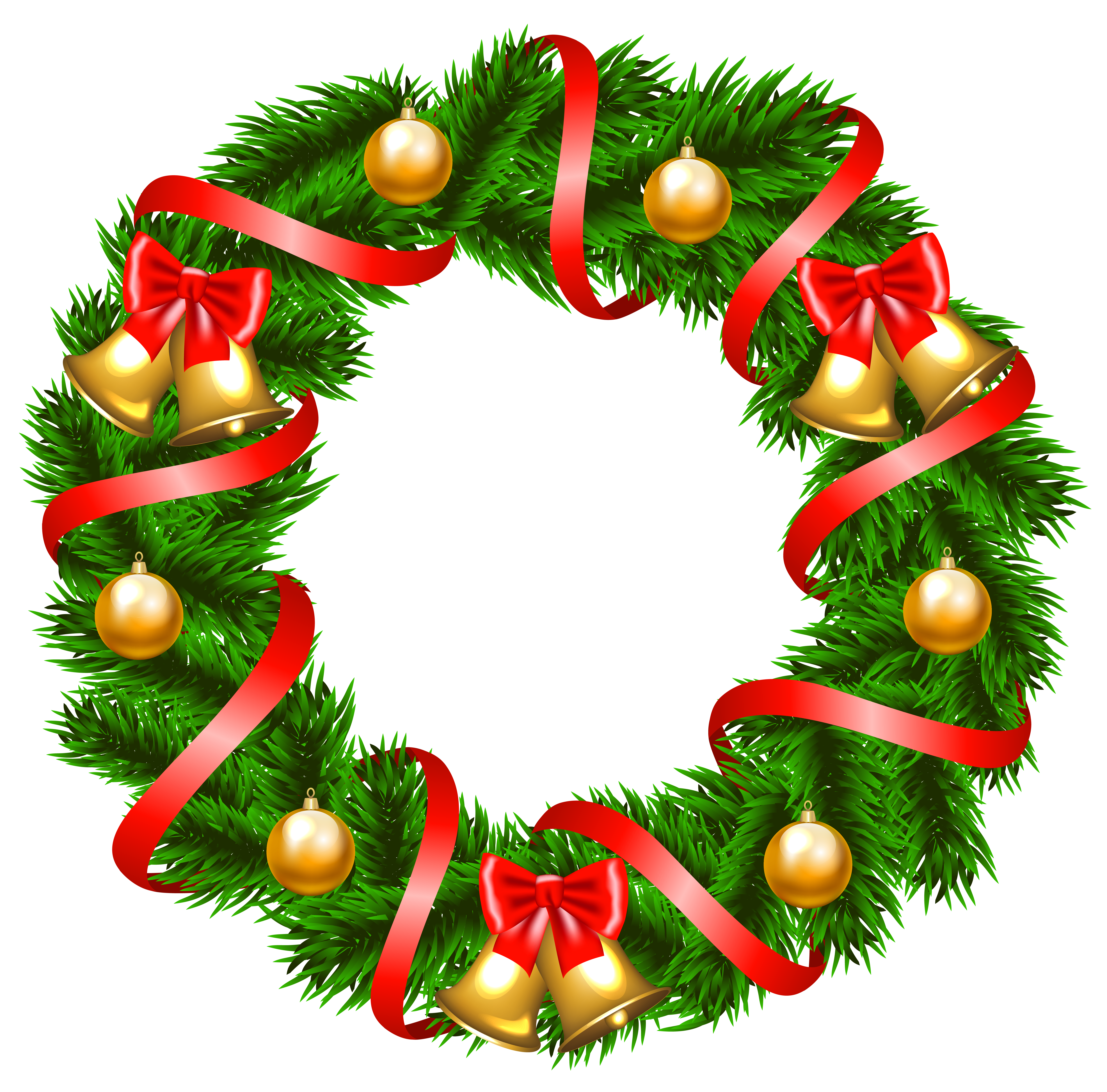Decorative png image gallery. Christmas clipart wreath