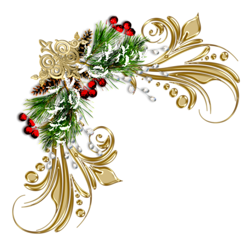 Pin by anne bente. Christmas corner border png