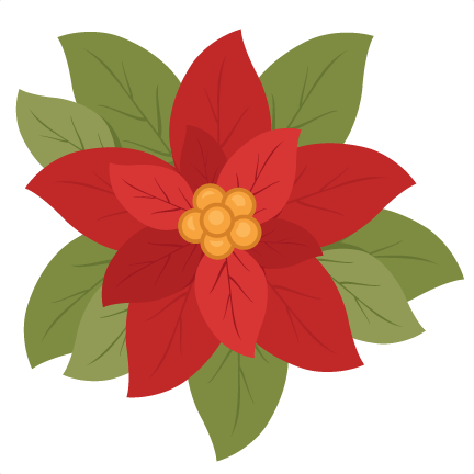 clip library stock. Christmas flower png