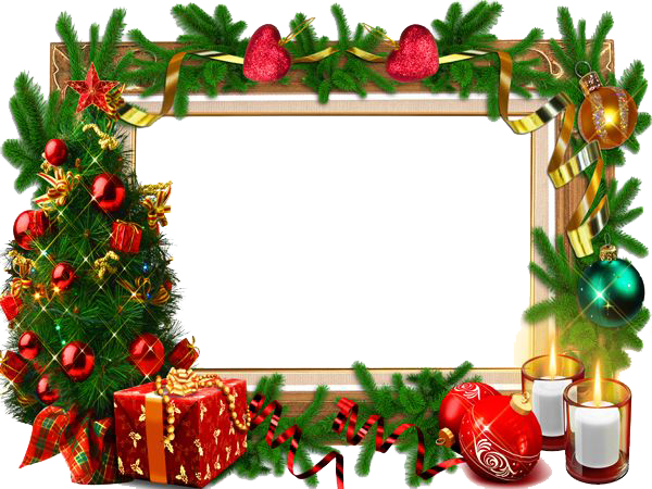 Free download mart. Christmas frame png