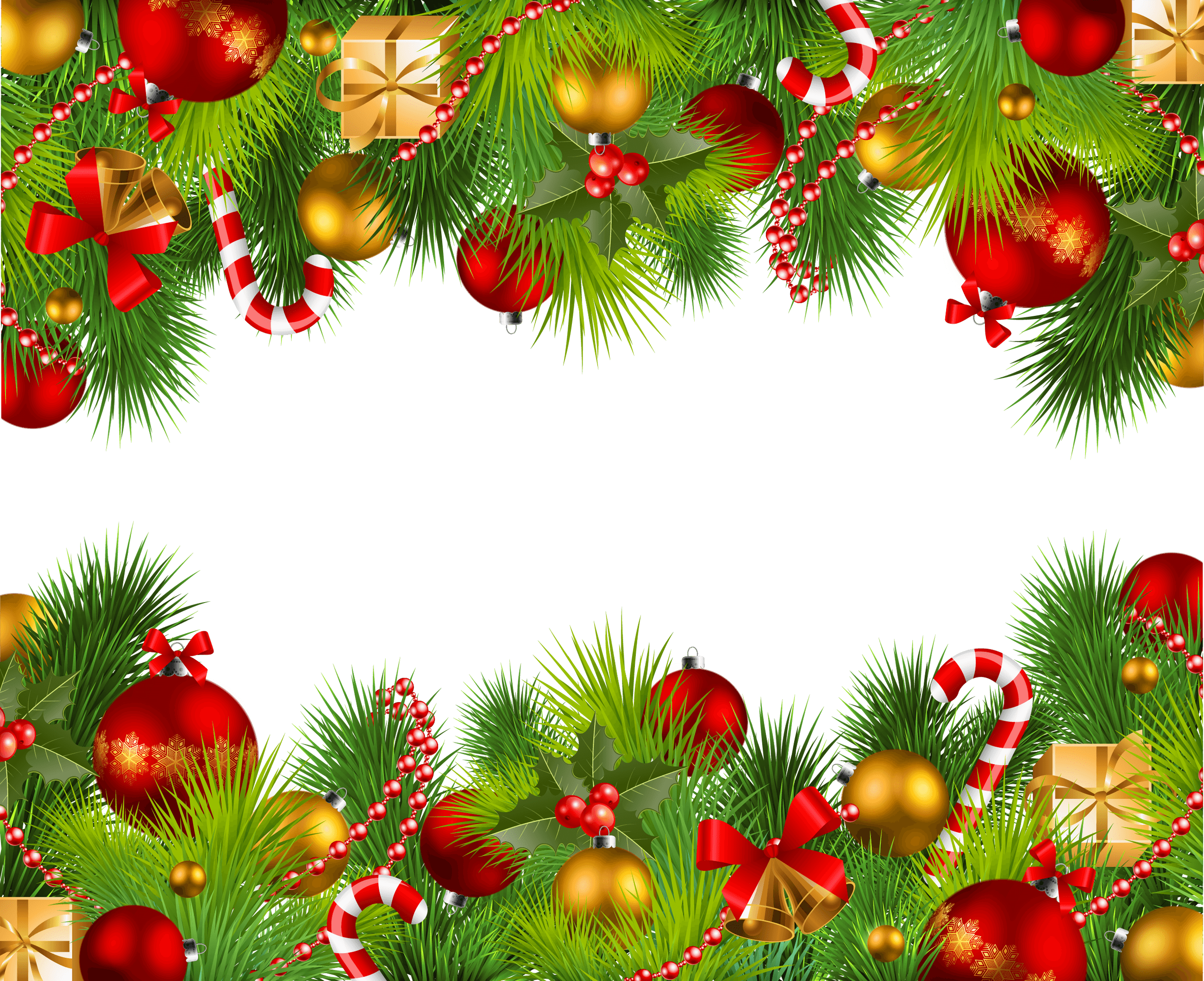 Double transparent stickpng. Christmas frame png