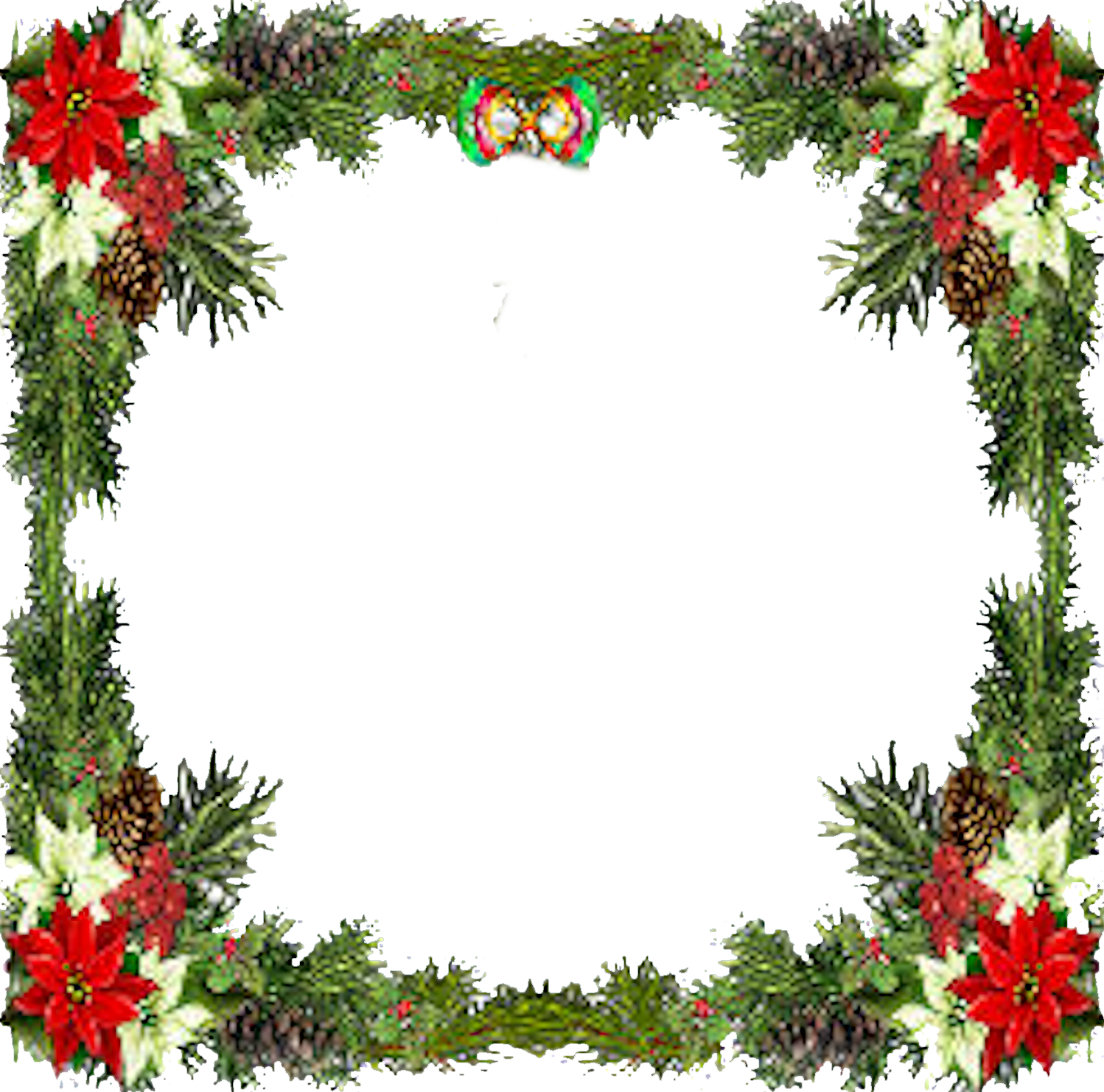 Christmas frame png. Free icons and backgrounds