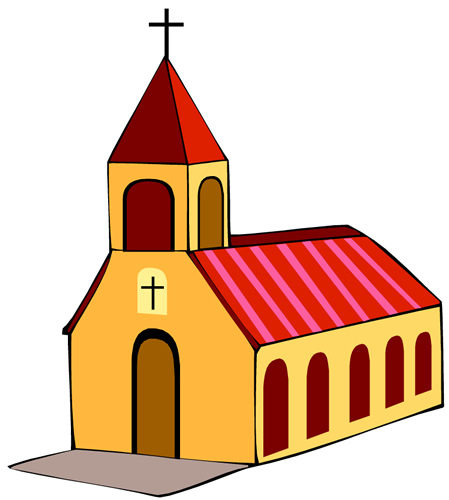 Free images download clip. Clipart church