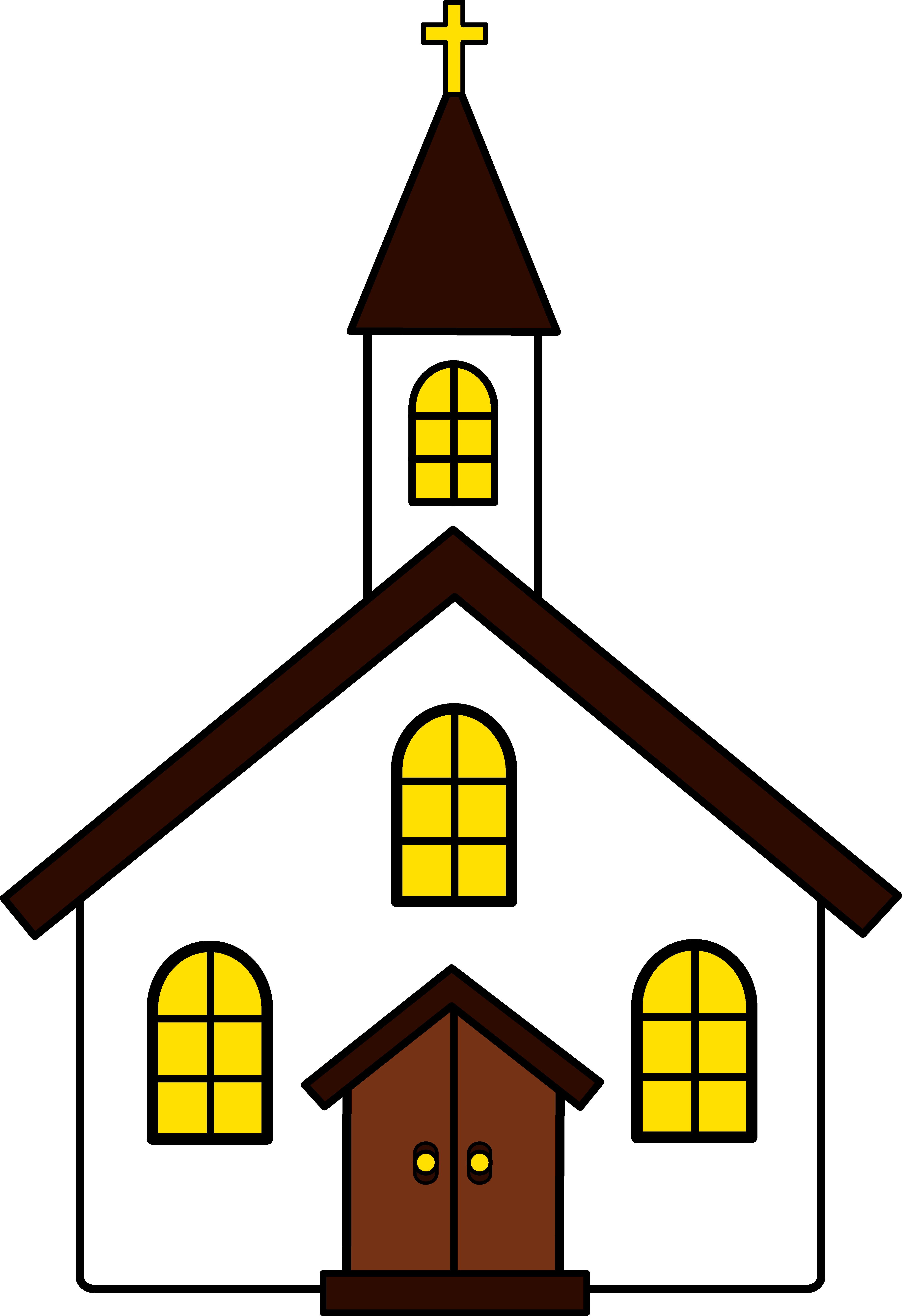 Church clipart baptist church. Christian cartoon clip art