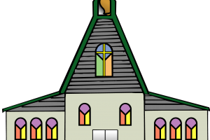 R download station page. Church clipart catholic church