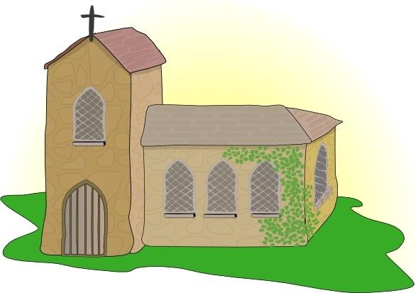 Church clipart country church. Clip art free vector