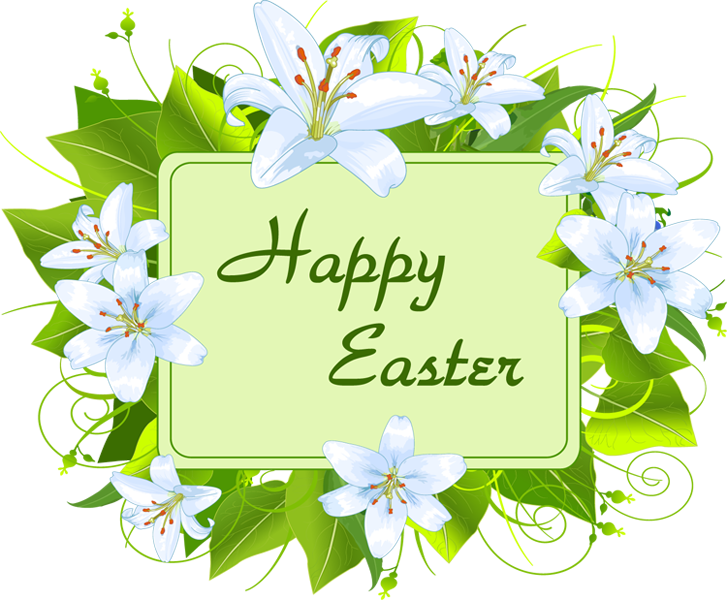 Happy easter . Music clipart religious